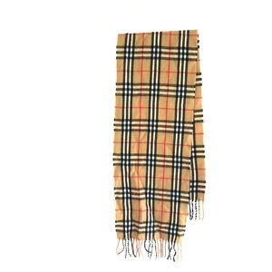 Plaid scarf light weight